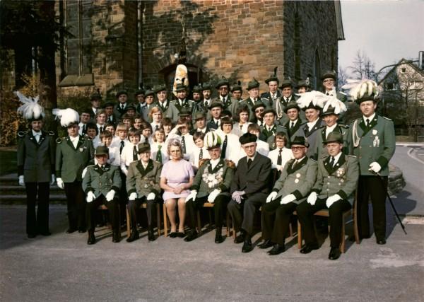 Vereinsmitglieder 1974