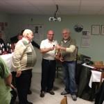 Wilbert Klein gewinnt Champagner für`s beste Ergebnis